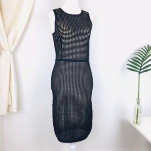 Line & Dot Caviar Black Eyelet Dress Lace REVOLVE